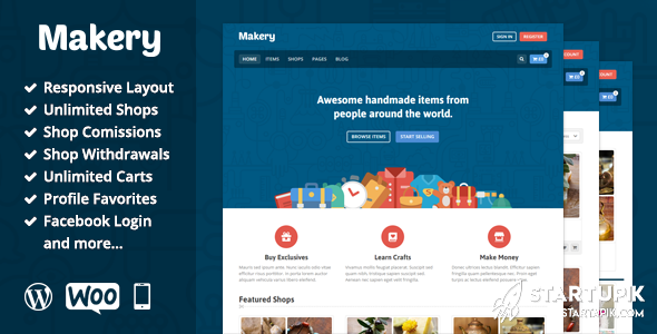 Makery Marketplace Startups