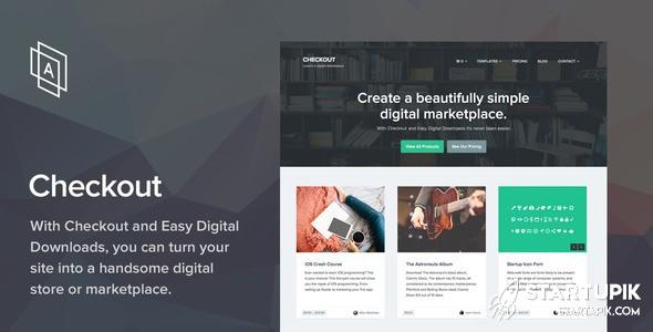 Checkout Marketplace Startup
