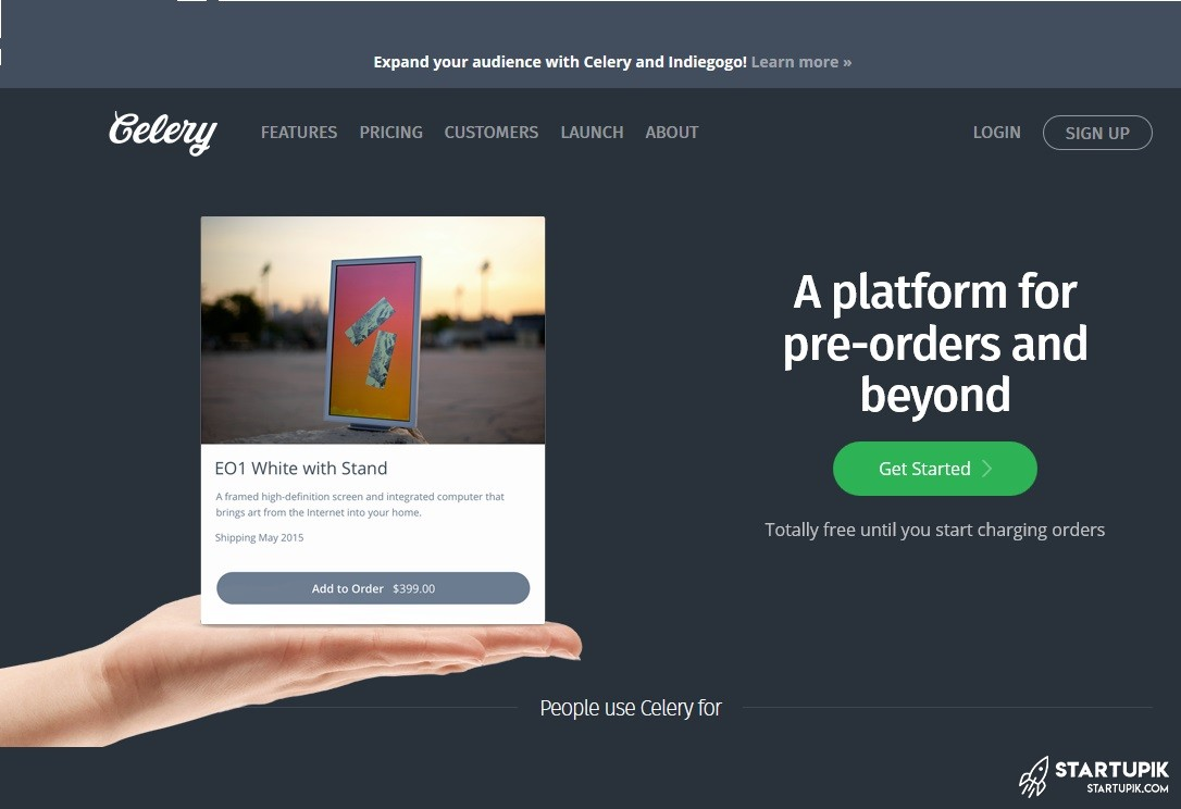 Celery, a great tool for crowdfunding