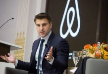 Brian Chesky cofounder of Airbnb