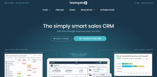 Teamgate, a great CRM tool for all companies