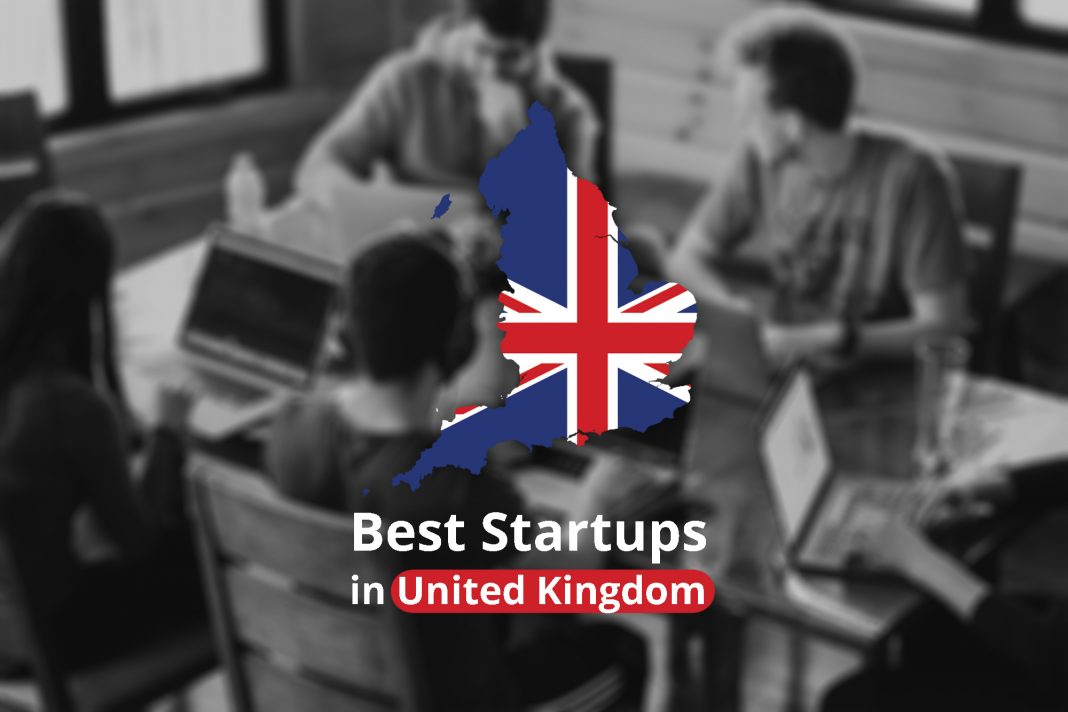 top 10 startup companies in UK