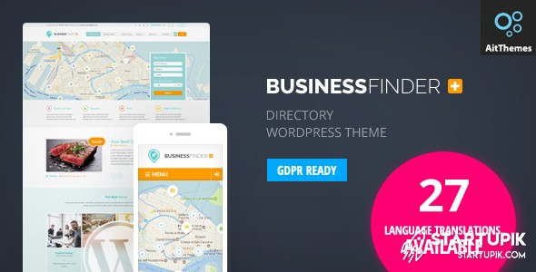 Business Finder Directory Listing Theme