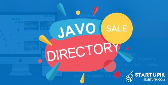 Javo Directory Listing Theme