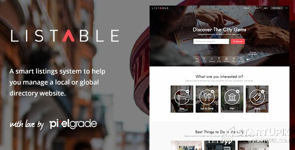 Listable Directory Listing Theme