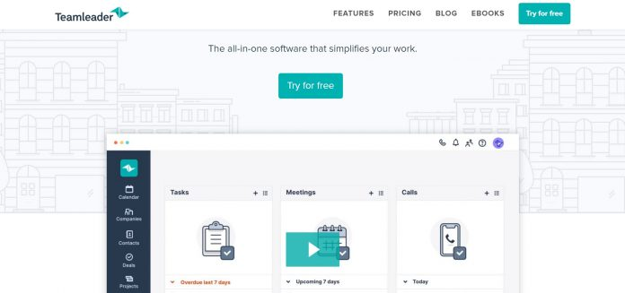Teamleader, a great CRM for startup businesses