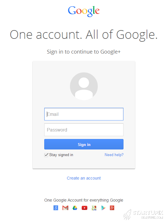 google-create-account
